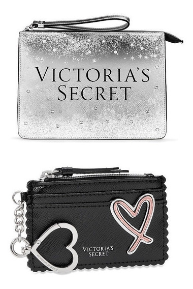 Monedero Victorias Secret + Cosmetiquera Envio Gratis
