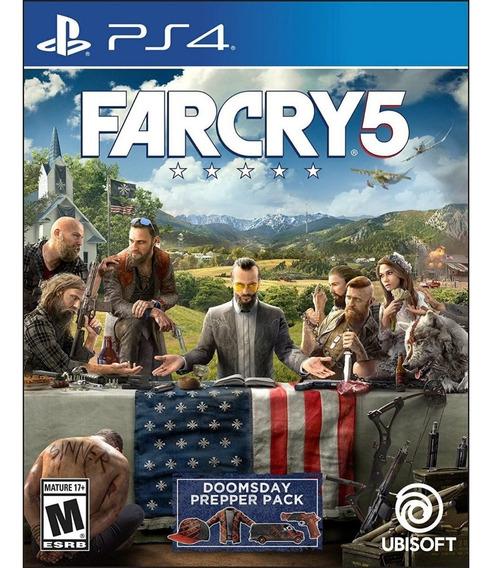 Far Cry 5 Ps4 Mídia Física Lacrado