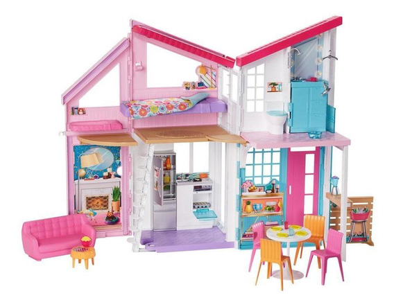 Playset Barbie 90 Cm Casa Da Barbie Casa Malibu