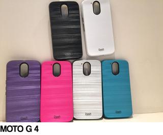 Funda Super Reforzada Plastico Motorola G 5 Novedad Colores
