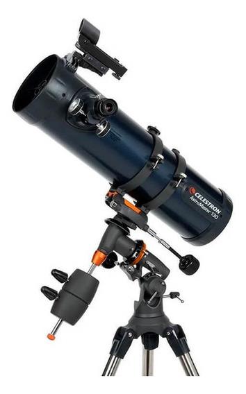 Telescópio Refletor Newtoniano Astromaster 130eq Celestron Com Montagem Equatorial Germânica E Tripé De Aço Original