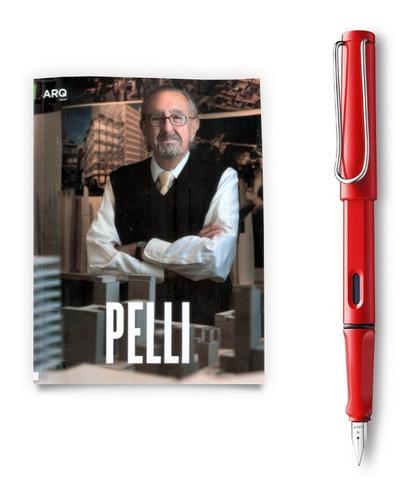 Arq Libro Cesar Pelli + Lamy Safari Rojo