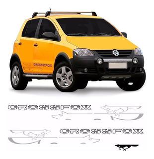 Kit Faixa Crossfox 2008 E 2009 Adesivo Lateral E Traseiro
