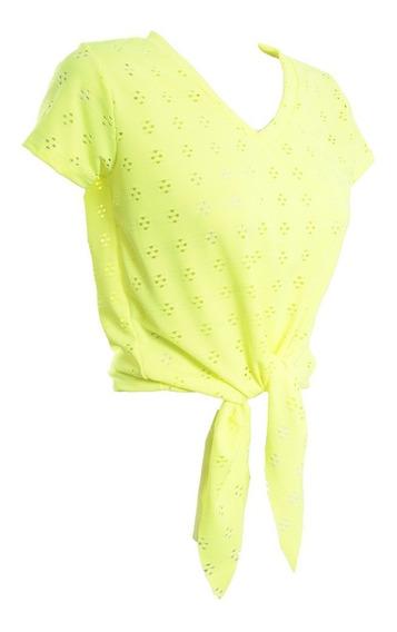 T-shirt Blusa Camiseta Feminina Amarrar Laise Promoção #118