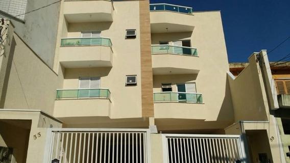 Apartamento Cobertura Para Venda Na Vila Valparaiso - 8385ig
