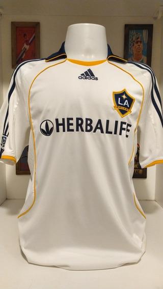 Camisa Futebol Los Angeles Galaxy 2007 Beckham