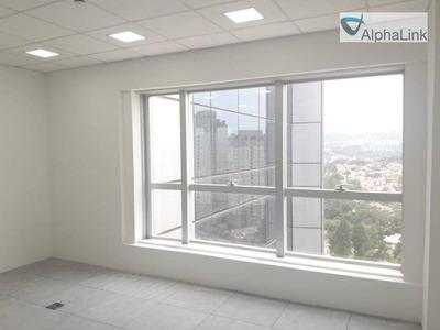 Sala Comercial 30 M² - Air Offices Alphaville - Barueri - Sa0184