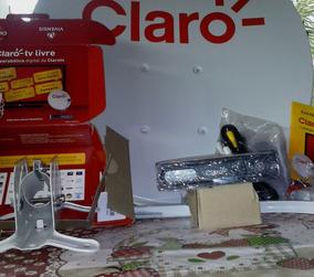 Kit 1 Recepitor Claro Tv Livre Mas 1 Ant 60 Mas Cabo