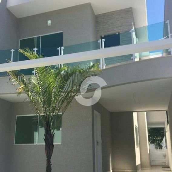 Primeira Locação Itaipú. Excelente Casa Com Ótima Localização. 1 Pav. Sala Com Dois Ambientes, Lavabo , Copa Cozinha, Despensa, - Ca0445