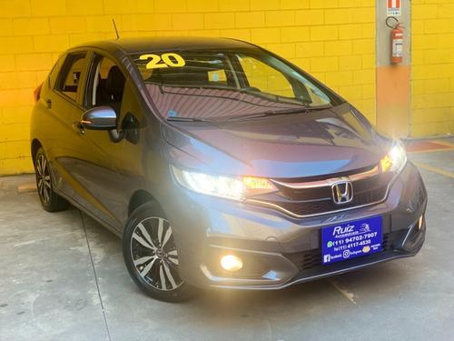 Honda Fit Exl Top Linha Unico Dono Garantia Fábrica 6 Mil Km