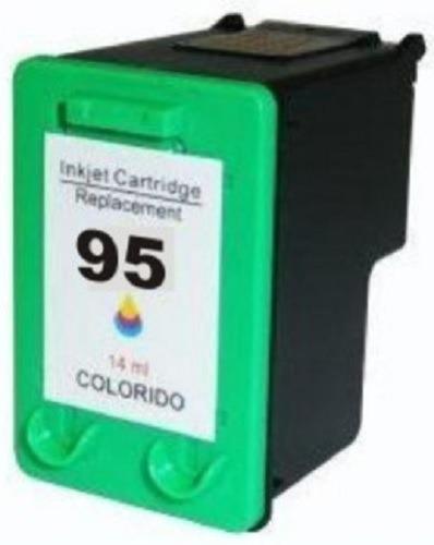Imagen 1 de 2 de Cartucho De Tinta Generico Compatible Con 95 C8766wl Tricolor Nuevo 6540