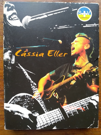 Box Cds+dvd Cassia Eller S+v Sound And Vision Collection