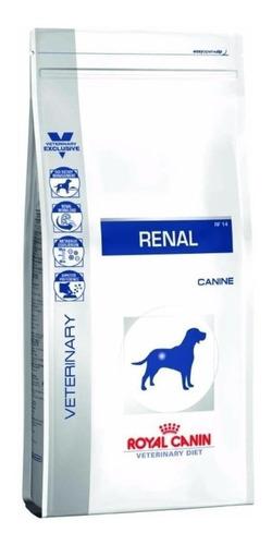 Ração Royal Canin Veterinary Diet Canine Renal para cachorro adulto todos os tamanhos sabor mix em saco de 10kg