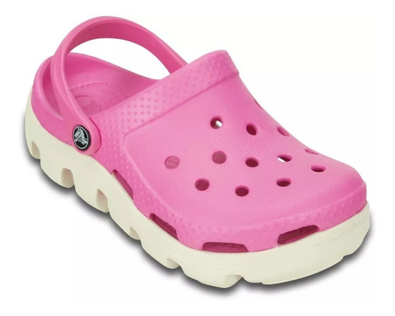 Crocs Duet Sport Clog -party Pink-oyster