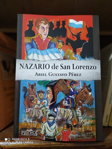 Imagen 1 de 2 de Libro Nazario De San Lorenzo Ariel Gustavo Perez