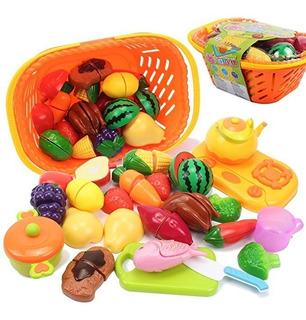 Amosting Kids Pretend Food Play Juguetes Cocina Niños Set Co