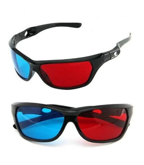 Novo 3d Filme Game Óculos Modish Moldura 3d Vermelho Azul Óc