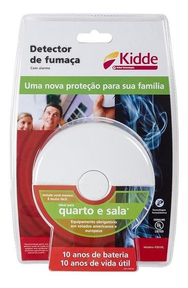 Kit Detector De Fumaça 5 Quarto/sala 1 Cozinha 1 Corredor