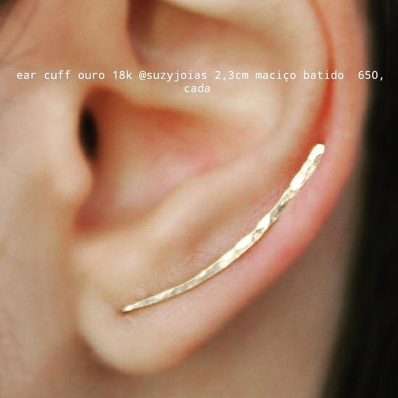 Ear Cuff Ouro 18k