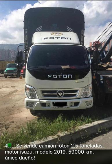 Camion Foton Tx5511 2.5 Toneladas Modelo2019 -estaca