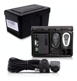Alarme Automotivo Carro + Bloqueador Anti Furto Amx-908