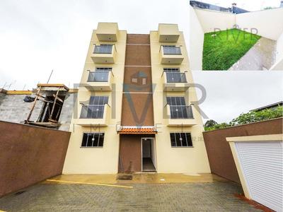 Apartamento Com Quintal, Novo, No Jardim América Em Poá/sp; 2 Quartos; 2 Vagas - Ap0017