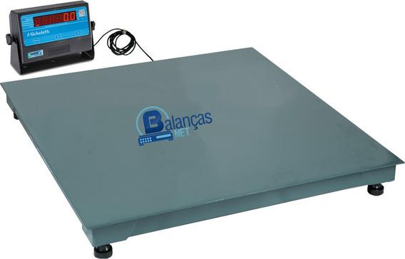 Balança Eletrônica 2000kg X 500g 1,50x1,50 Garantia Inmetro