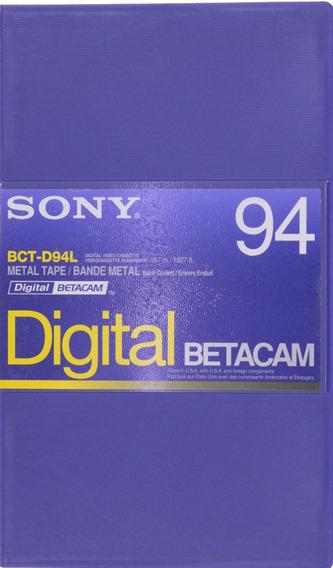 Fita Digital Betacam Sony Bct-d94l