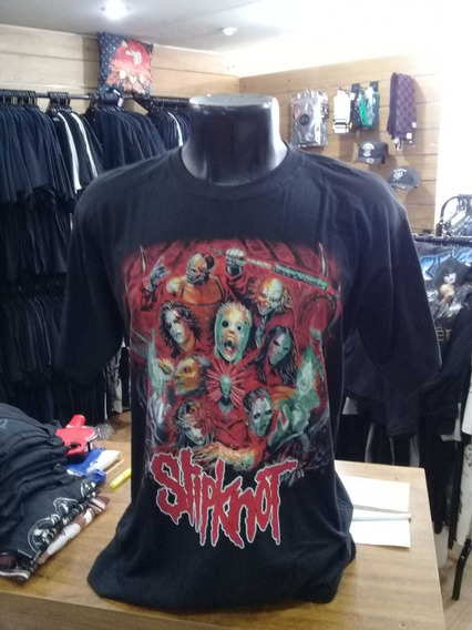 Camiseta Slipknot Banda Fan Art Power Rock Pws001