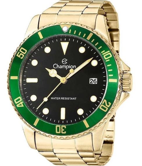 Relógio Champion Masculino Prateado Ca31266m