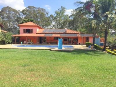 Chácara Residencial À Venda, Condomínio Fechado, Atibaia. - Ch0090