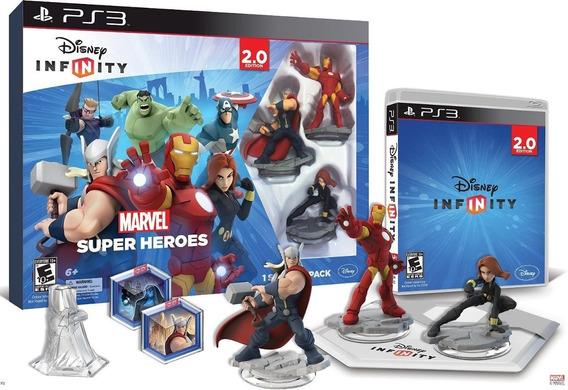 Disney Infinity Ps3 Marvel Super Heroes2.0 Caballito