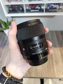 Lente Sigma 35mm 1.4 Para Canon
