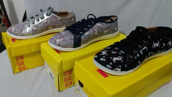 Sapato Moleca Unicórnio
