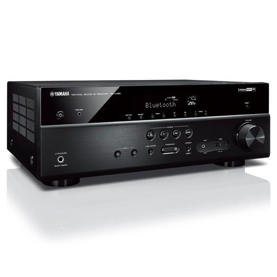 Receiver 5.1ch Yamaha Rx-v485 Bt Wi-fi Airplay 4k Uhd Hdr Zb