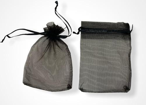 Imagen 1 de 2 de Bolsas De Organza, Bijou, Souvenirs, Sorpresitas. Pack X 100
