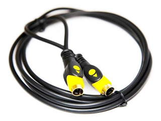 Cable S-video Super Video 1.8mt Oro Led Dvd Tv +blister Htec