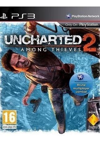 Uncharted 2:among Thieves Ps3 Usado Frete Tbm Via Cr