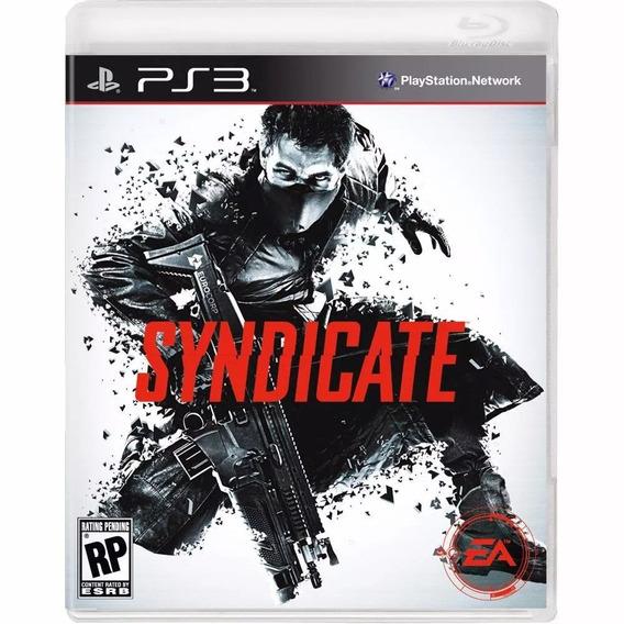 Syndicate Playstation 3 Ps3 Mídia Física Original
