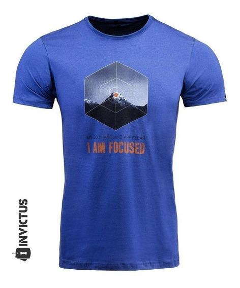 Camisa Manga Curta 100% Algodão Invicuts Concept Focus