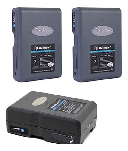 Baterías V-mount Beillen X 3 + Cable De Carga