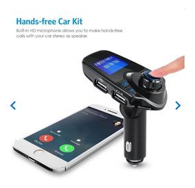 Transmissor Bluetooth Veicular Usb / Sd - Chamadas Celular