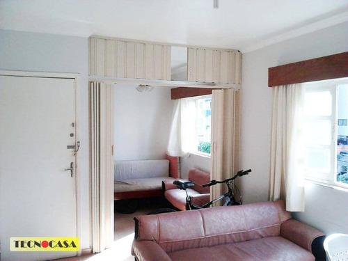 Apartamento Com 1 Dormitório À Venda, 52 M² Por R$ 150.000,00 - Ocian - Praia Grande/sp - Ap5907