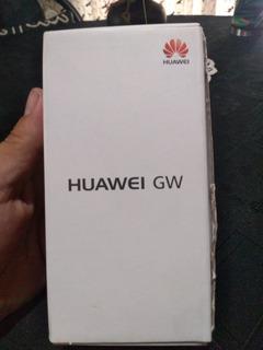 Celular Huawei Gw Con Todos Sus Accesorios,placa Rota