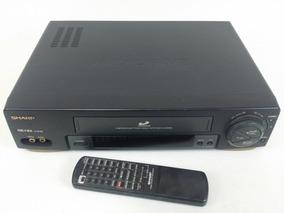 Videocassete Sharp Vc-1694 B Com Remoto Com Defeito
