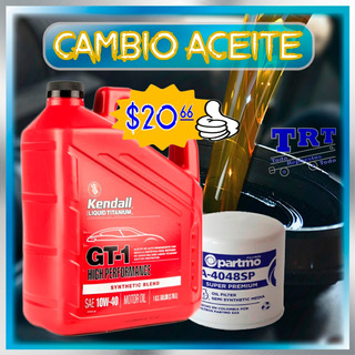 Cambio De Aceite Kendall Para 7500km * 20w50 10w30 15w40