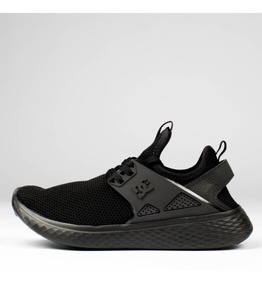 Tênis Dc Shoes Meridian Preto Inteiro Original