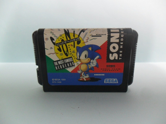 Sonic The Hedgehog - Original - Sonic 1