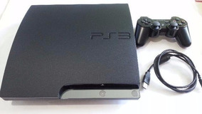 Ps3 Playstation 3 Slim + Controle Original.
