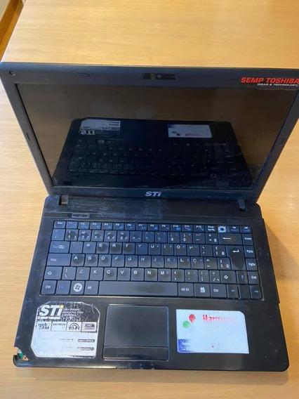Carcaça Superior Da Tela Com A Tela Notebook Is1422